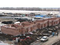 Строительство блокированного дома Северная 10