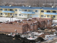 Строительство блокированного дома Северная 4