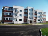 Трехэтажный многоквартирный жилой дом