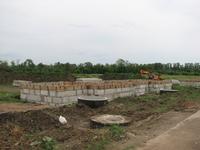 Строительство домов по ул. Парковой.