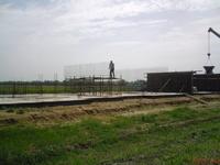 Армирование поперечных монолитных стен.
